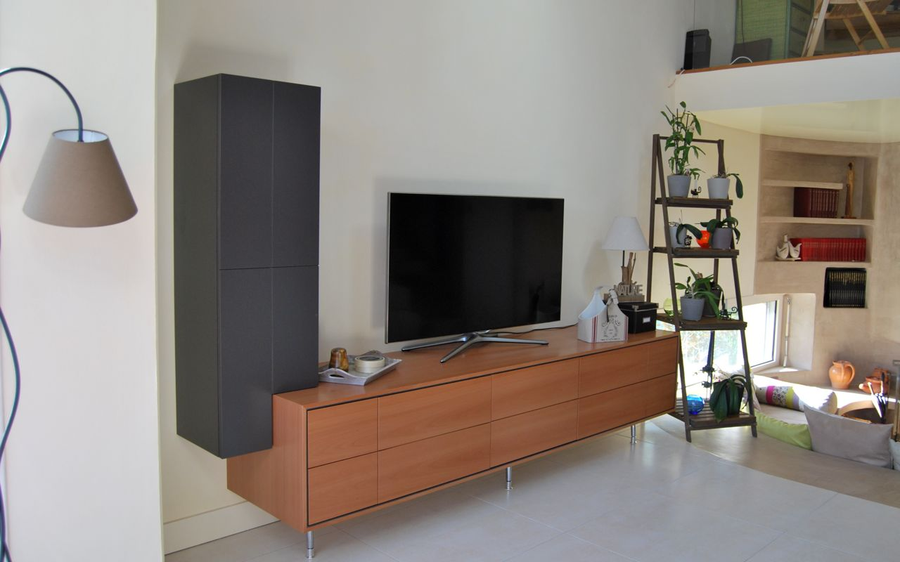 Meuble Sur Mesure Artisan B Niste Cr Ation Fabrication En  # Meuble Tv Artisan