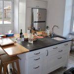 Une cuisine à vivre. Conception et réalisation, Atelier de l'Ébène