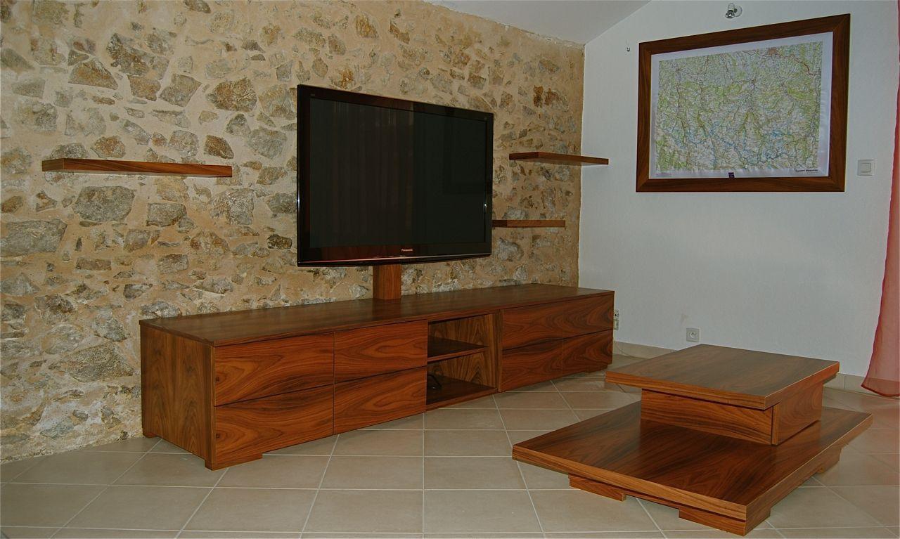 Meuble Sur Mesure Artisan B Niste Cr Ation Fabrication En  # Meuble D Angle Tv Moderne
