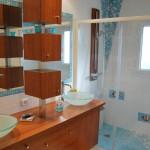 Ssalle de bains design et épuré