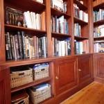 Aménagement de bibliothèque.