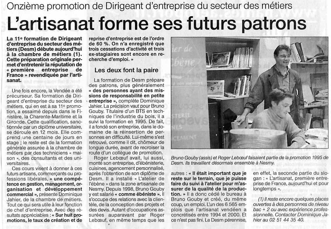 2002 Article Desm
