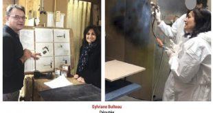 2017 Sylviane Bulteau atelier