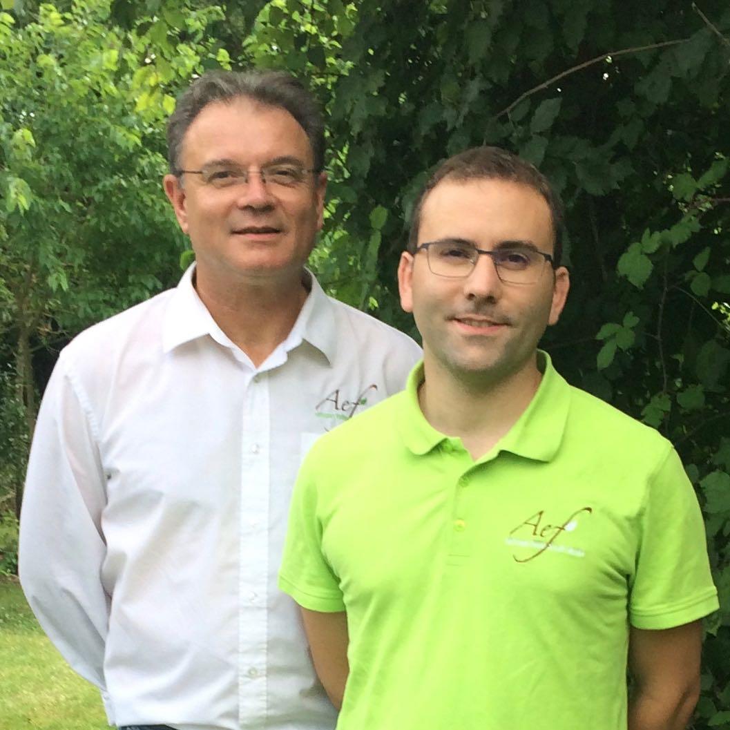 Nicolas Boucher et Roger Leboeuf, Co-gérants